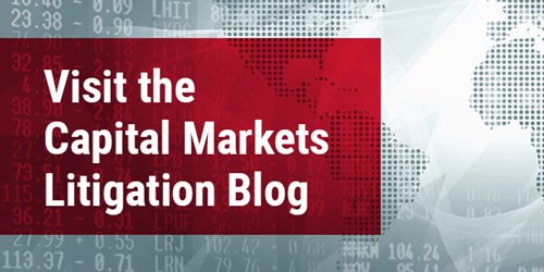 Capital Markets Litigation